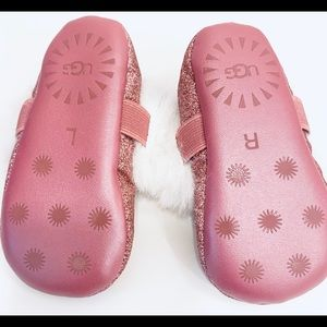 UGG Shoes - UGG baby girl pink sparkle shoes - 2/3